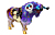 Urspr�nglich als Begleiter von Stadtevents gefertigt, werden die ART IN THE CITY Tier-Miniaturen heute auch als kreative Plattform f�r extravagante und farbenfrohe Ideen von internationalen K�nstlern genutzt. Alle Figuren sind aus Polyresin (Kunstharz) hergestellt und einzeln handbemalt