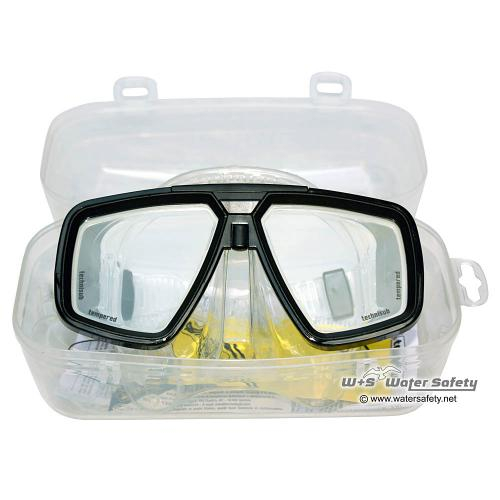 AquaLung Tauchmaske LOOK Silikon Schwarz