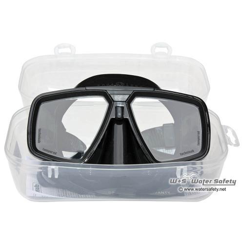 AquaLung Tauchmaske LOOK Black Silikon, Schwarz