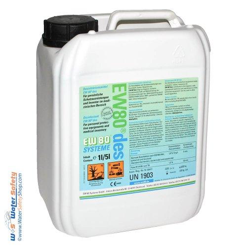 Desinfektionsmittel EW 80 des 5 Liter