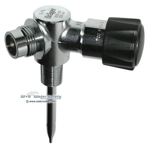Abb: Dräger Nitrox Ventil M24x2