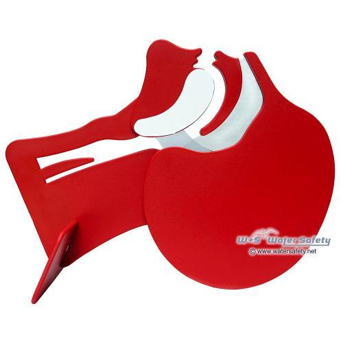 Laerdal Kopfschnittmodell, rot