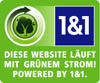 Diese Website l�uft mit gr�nem Strom aus regenerativer Energie!