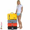 1525 AIR Koffer Mit TrekPak Einteiler, Schwarz 9