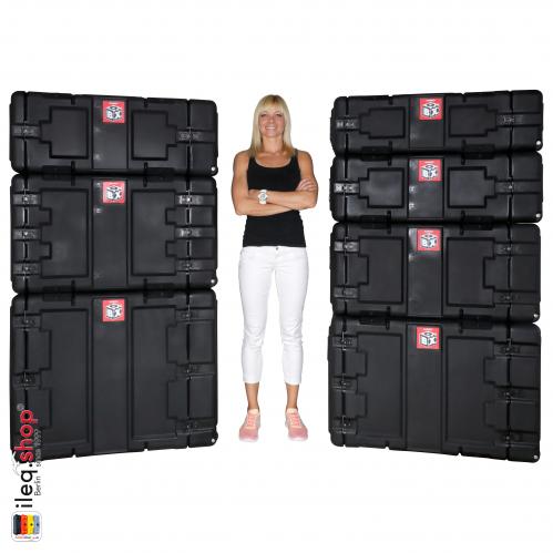 Peli-Hardigg Rack Mount Koffer BlackBox