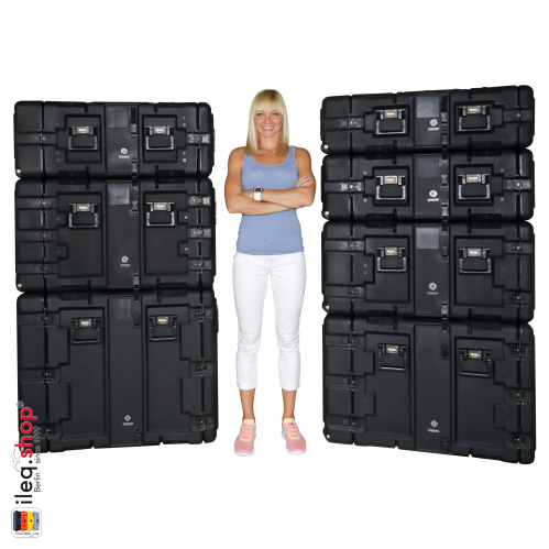 Peli-Hardigg Rack Mount Koffer Super-V Series