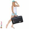 1555 AIR Koffer Mit Schaum, Schwarz 5