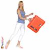1557 AIR Koffer Mit Schaum, Orange 6