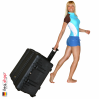 1640 Koffer Mit Einteiler, Schwarz 9