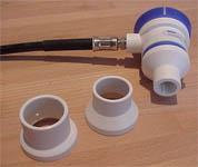 Abb.: Dräger Oxidem Demandventil und Schraubkappenadapter