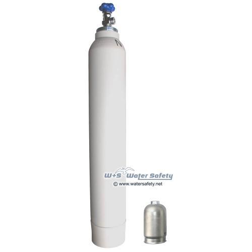 10,0 Liter med. Sauerstoff Flasche