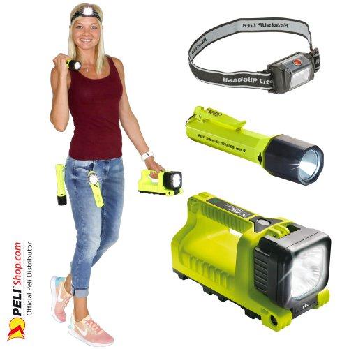 Peli ATEX Zone 1 & Zone 0 Taschenlampen