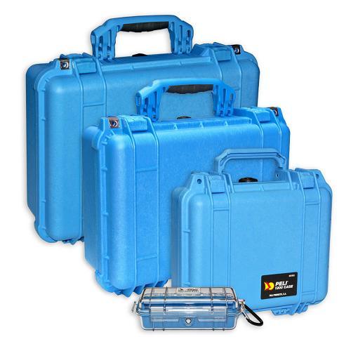 Peli Koffer Farbe Blau