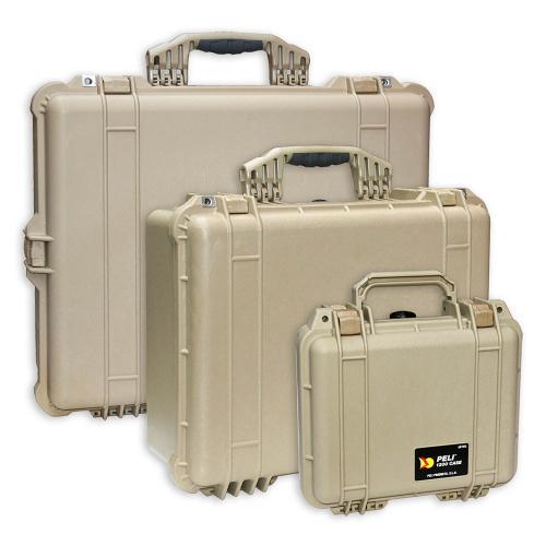 Peli Koffer Farbe Desert Tan