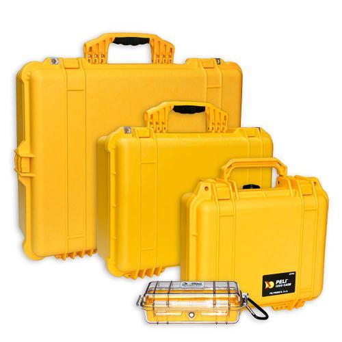 Peli Koffer Farbe Gelb