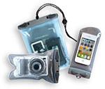 Aquapacs - Wasserdichte Hüllen für Mobiltelefone, Kameras, Wertsachen, Funkgeräte, GPS, Pässe, Karten, Schlüssel uvm.
