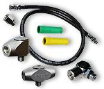 Hochdruck-, Mitteldruck-, Finimeterschläuche, Adapter und Winkel