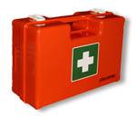 Betriebsverbandskästen, Erste Hilfe Material, Verbandsstoffe, Instrumente, Kältetherapie