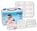 Lavatherm W�rme- und K�ltepackungen. Lavatherm Packungen spenden nach der Aktivierung f�r mehrere Stunden angenehme, heilende W�rme durch eine chemische Reaktion. Um die Packung nach der Benutzung wieder einsetzbar zu machen muss sie lediglich einige Zeit in kochendem Wasser wieder reaktiviert werden