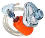 Masken f�r Sauerstoff-Notfallsysteme und Beatmungsbeutel, Inhalationsartikel f�r den Notfall oder die Sauerstofftherapie, Gesichtschilde f�r die Erste Hilfe