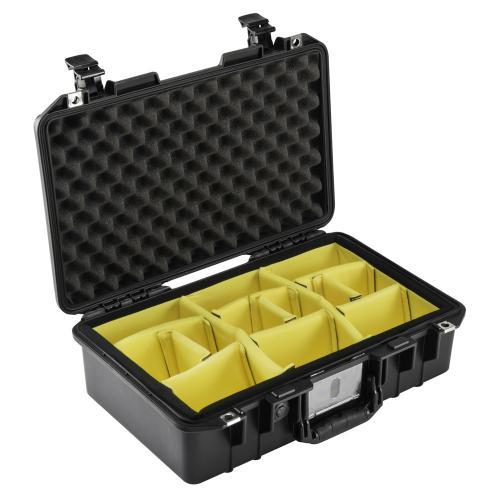 1485 AIR Koffer Mit Einteiler, Schwarz