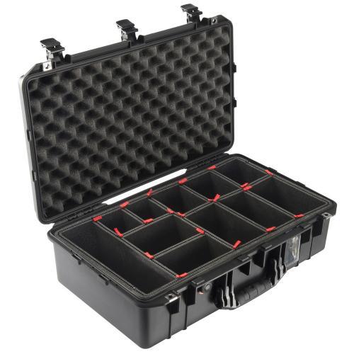 1555 AIR Koffer Mit TrekPak Einteiler, Schwarz