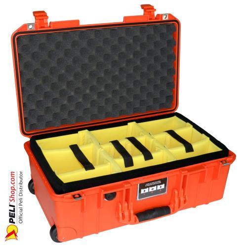 peli 1535 air carry on koffer mit einteiler orange. Black Bedroom Furniture Sets. Home Design Ideas