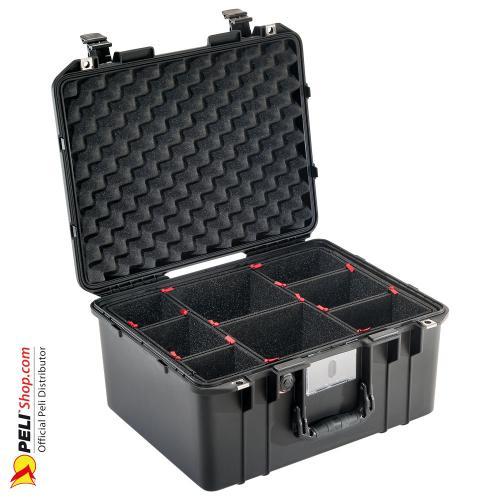 1557 AIR Koffer Mit TrekPak Einteiler, Schwarz