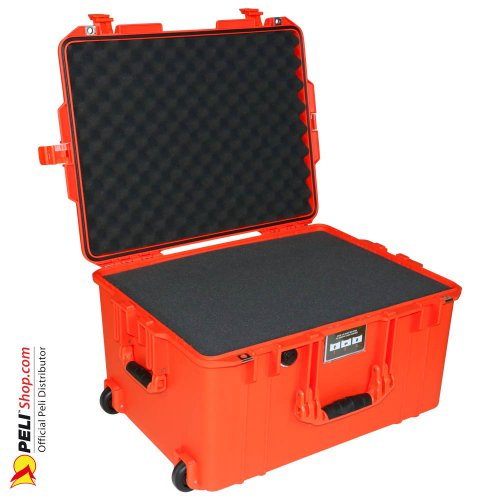 1607 AIR Koffer Mit Schaum, Orange