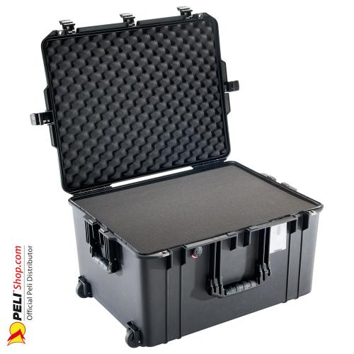 1637 AIR Koffer Mit Schaum, Schwarz