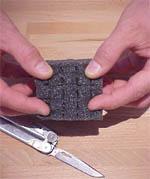 Vorgeschnittener Schaumstoff aus einem Pelicase