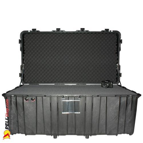 0550 Koffer Mit Schaum / Ohne Räder, Schwarz