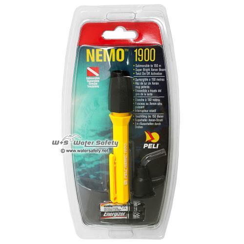 1900N Nemo 2AAA Submersible, Gelb