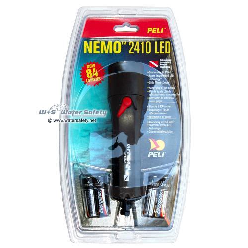 2410N Nemo Recoil LED, Schwarz