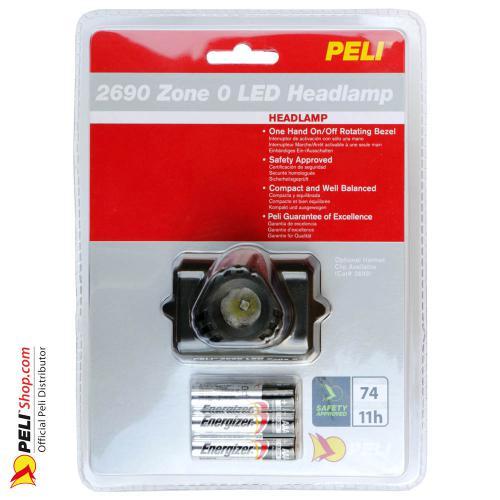 2690Z0 HeadsUp Lite LED, ATEX 2015, Zone 0