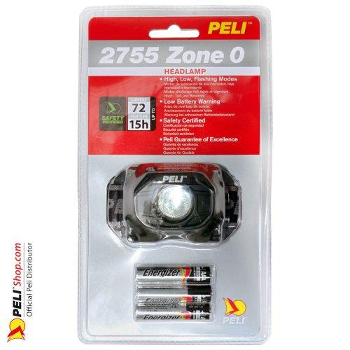 2755Z0 LED Headlight ATEX 2015, Zone 0, Schwarz