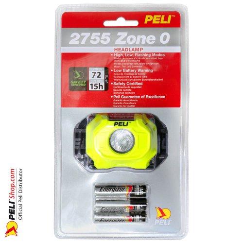 2755Z0 LED Headlight ATEX 2015, Zone 0, Gelb