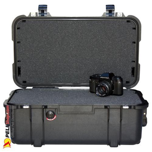 1460 Koffer Mit Schaum, Schwarz