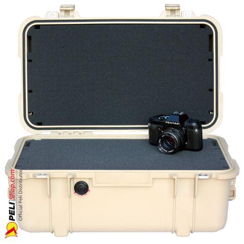 1460 Koffer Mit Schaum, Desert Tan