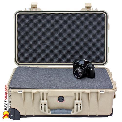 peli 1510 carry on koffer mit schaum desert tan online. Black Bedroom Furniture Sets. Home Design Ideas