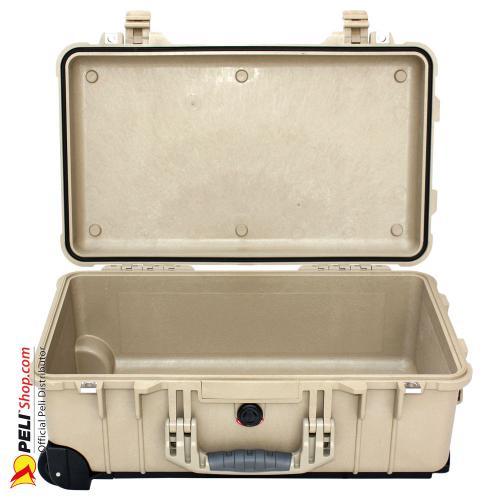 peli 1510 carry on koffer ohne schaum desert tan. Black Bedroom Furniture Sets. Home Design Ideas