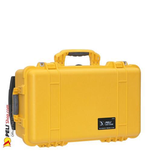 1510 carry on koffer mit einteiler gelb online shop. Black Bedroom Furniture Sets. Home Design Ideas