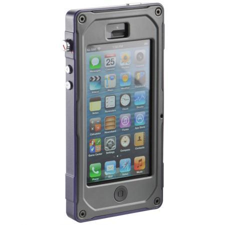 CE1180 Vault Series iPhone 5/5S Case, Lila/Schwarz/Dunkelgrau