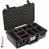 1525 AIR Koffer Mit TrekPak Einteiler, Schwarz