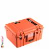 1557 AIR Koffer Mit Schaum, Orange 1