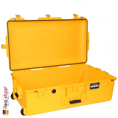 1615 AIR Check-In Koffer, PNP Schnallen, Ohne Schaum, Gelb
