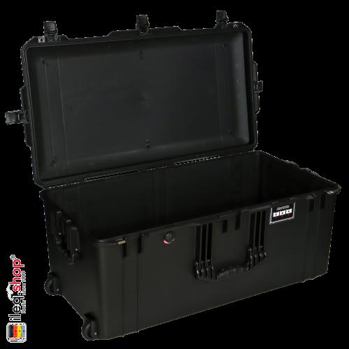 1646 AIR Koffer, PNP Schnallen, Ohne Schaum, Schwarz