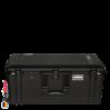 1646 AIR Koffer, PNP Schnallen, Ohne Schaum, Schwarz 1