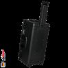 1646 AIR Koffer, PNP Schnallen, Ohne Schaum, Schwarz 5