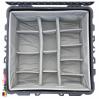 1640 Koffer Mit Einteiler, Schwarz 8
